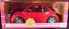 2000 Barbie Volkswagen VW Car – Comercial + NRFB'S and Cars out of box.