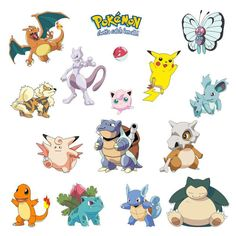 Cartoon Pokemon Wall Stickers for Kids Rooms Home Decorations Pikachu Wall Decal Poster Wall Art Children Poster