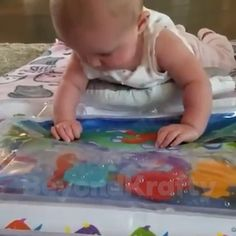 Water Play Mat, Baby Play, Baby Sensory Play, 2 Kind, Baby Gadgets, Tummy Time, Baby Birthday, Baby Room, Baby Gifts