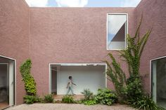 Three Courtyard House by Extrastudio | Semi-detached houses