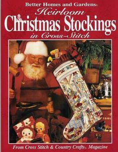 9 Heirloom Christmas Stockings BH Cross Stitch  by bubbacandance, $19.99