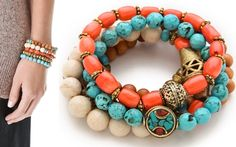 Emily Maynard Has a Really Colorful Arm Party Going On
