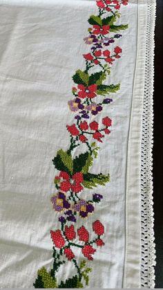 Elsa, Towels, Cross Stitch, Dots, Needlepoint, Flowers, Crosses, Cross Stitches, Jelsa