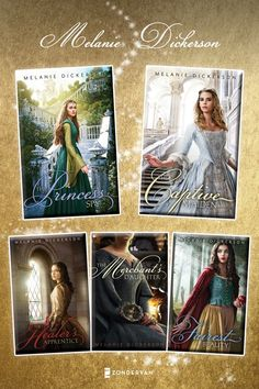 FINISHED! These are fantastic! Melanie Dickerson Books! These books were recommended on facebook in the list S.M. Eden had her readers put together.