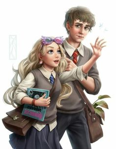 Luna and Neville