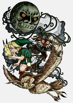 Majora's mask by ~yuririn1219