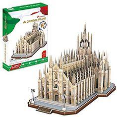 CubicFun MC210h Italy Duomo di Milano World's Great Architectures 3d Puzzle, 251 Pieces
