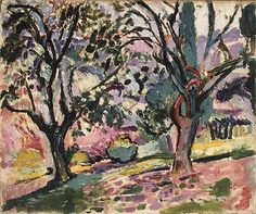 Habitually Chic®: March Madness, Henri Matisse, Olive Trees at Collioure, 1905, Metropolitan Museum of Art