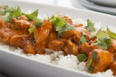Kylling i karri - Oppskrift - Godt. Indian Curry, Small Meals, Meat Chickens, Tandoori Chicken, Nars, Recipies, Cooking, Healthy, Ethnic Recipes
