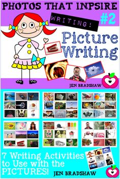 WRITING KIT #2:  Picture writing kit using photographs to inspire students to write!   #writing #inspiration