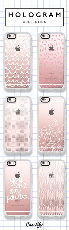 Click through to shop these iPhone 6/6S Case designs by Hologram >>> https://www.casetify.com/hologram/collection #phonecase | @casetify
