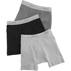 Hanes Boys' Boxer Briefs, 5-Pack