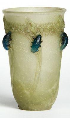 Autres Verreries ou Maîtres Verriers Français, François-Emile DECORCHEMONT (1880-1971) des créations de pâtes de verre exceptionnelles (France)