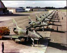 RNZAF A4K Skyhawk aircraft