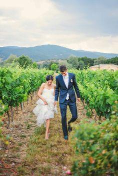 mariage vignoble roquebrune