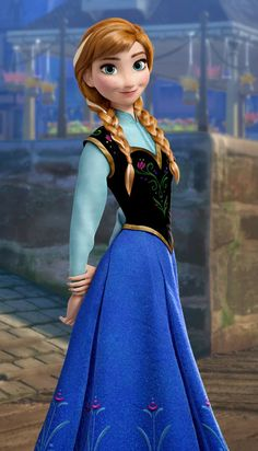 Anna from Frozen CAN'T WAIT TO SEE THIDMWITH GRANDKIDS.