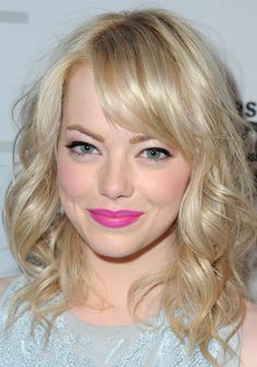 Feeling adventurous? Try a hot pink lip to brighten up your look! #hotpink #pink #makeup #lipstick