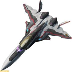 YF-30 fighter mode Spaceship Design, Spaceship Concept, Concept Ships, Concept Cars, Space Fighter, Air Fighter, Fighter Jets, Drones, Macross Valkyrie