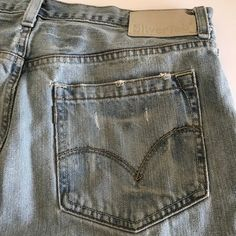 17cd5bb2 Levis SilverTab Mens Denim Baggy Blue Jeans 36x30 | Clothing, Shoes &  Accessories,