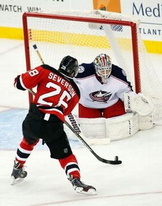 Damon Severs, New Jersey Devils