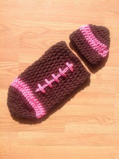 Football cocoon football cocoon pink for by MimisClosetBoutique