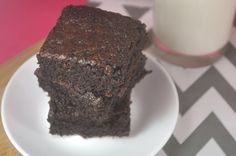 Bake Happy: Chewy Fudgy Brownie Recipe From Scratch  Excellent recipe. Bake the full 30 minutes for chewy edges.