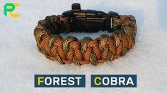 Forest Cobra Paracord Bracelet