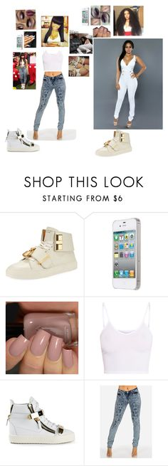 """""""Moody🔮"""" by laylakristion on Polyvore featuring BUSCEMI, BasicGrey and Giuseppe Zanotti"""