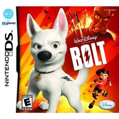 Disney Bolt Nintendo DS Game 1 Player Adventure available for sale. Nintendo Ds, Nintendo Switch, Battlefield 2, Playstation 2, Xbox, Cover Art, Sonic Blast, Bolt Disney, Latest Video Games