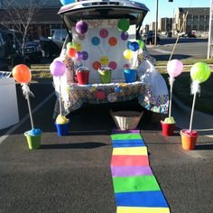 Trunk or Treat Decoration Ideas (not an Earlewood event photo...just for ideas)