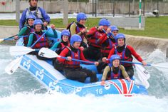 White Water Rafting at Lee Valley for my birthday. Definitely recommend to any adrenaline junkie!