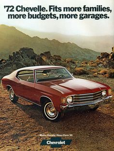 1972 Chevrolet Malibu 2 Door Hardtop