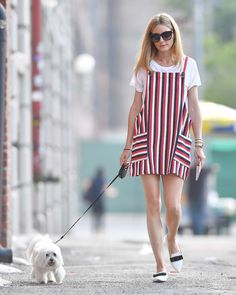 Olivia Palermo Rocks the Classic White Tee Two Very Chic Ways