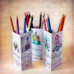 2016 Origami Calendar Boxes! Print & Fold :-) | by Katrin Ray