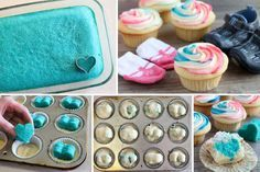 ▷ 1001 + gender reveal ideas for the most important party in your life - - Finding out your baby's gender is a big deal for lots of families. That is why we want to help you throw the best party with the best gender reveal ideas. Gender Reveal Food, Gender Reveal Pinata, Simple Gender Reveal, Gender Reveal Cupcakes, Gender Reveal Party Games, Gender Reveal Balloons, Gender Reveal Party Decorations, Baby Shower Gender Reveal, Gender Party