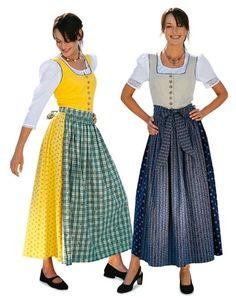 Dirndl - Naaipatronen jurken - voordelig kopen in de online shop / stoffenwinkel