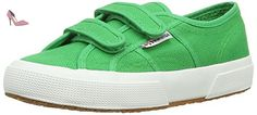 Superga 2750 Jvel Classic, Sneakers Basses Mixte enfant - Vert (island Green), 36.5 EU - Chaussures superga (*Partner-Link)