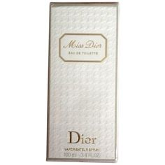Pre-owned Original Miss Dior - 3.4 Oz Edp - Eau De Toilette -spray -... ($105) ❤ liked on Polyvore featuring beauty products, fragrance, accessories, none, edp perfume, eau de toilette vs perfume, eau de parfum perfume, christian dior fragrance and christian dior
