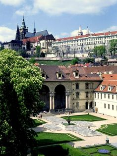 Prague Castle and Valdstein Garden