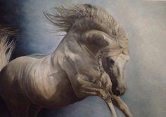 Ponent Rising  Tony O Connor - Equine Art