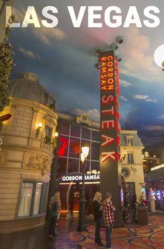 Gordon Ramsay Steak restaurant in Las Vegas