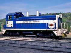 Empire Coke Company, EMD SW9 diesel-electric switcher locomotive in Holt, Alabama, USA
