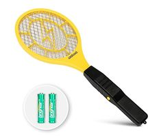 off 3000 Volt Electric Fly Swatter Mini Bug Zapper Outdoor - Free N Deals Mosquito Zapper, Bug Zapper, Flying Insects, Bugs And Insects, How To Kill Gnats, Electric Bug, Types Of Insects, Bee Sting