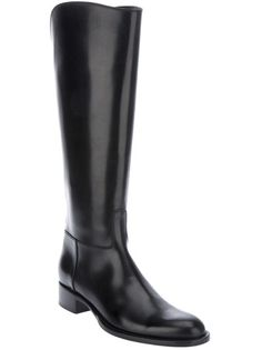 This Black Loro Piana riding #boot from @FarFetch is a #fall #fashion necessity