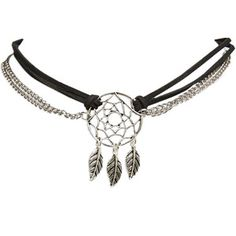 Dreamcatcher Chain & Faux Suede Choker