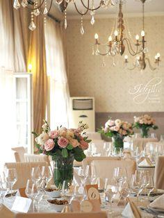 nunta Palatul Mogosoaia, salon Domnita Balasa, design de eveniment - Idyllic Events
