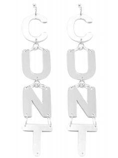 Vita E Liberta C Mirror Earrings