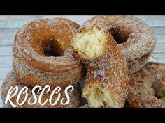 ROSCOS / Típicos Semana Santa / MUY FÁCIL / El Rincón de Belén - YouTube Sweet And Salty, Fritters, Doughnut, Hummus, Donuts, Tapas, Food And Drink, Cupcakes, Sweets