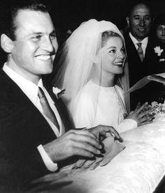 Virna Lisi e  Franco Pesci,aprile 1960