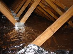 Pictures of Radiant Barrier installations - Energy Efficient Solutions